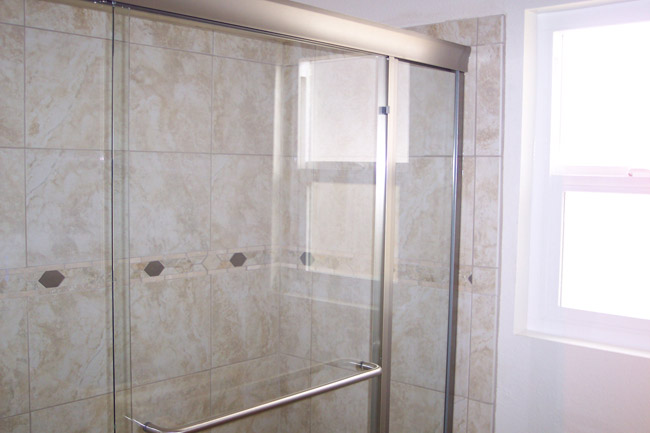 Shower enclosures gallery lancaster ca for All glass shower